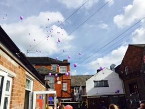 Sponsored Balloon Race! Little Angels Day Nursery 2015