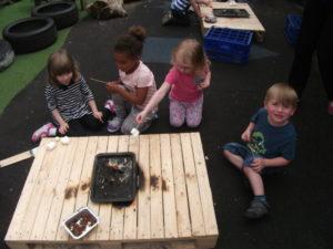 Little Angels Preschool children